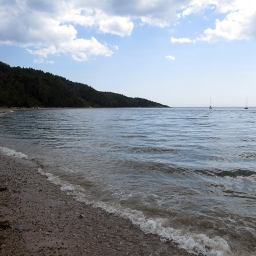 Beach Tadoussac