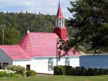 Chappel in Tadoussac