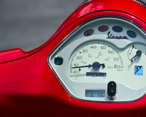 Red Motorbike