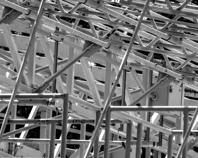 Open air tribune Park LaFontaine, Montreal