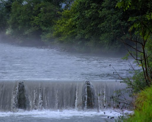 River with Fog