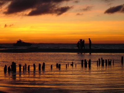 Sunset, Isla Mujeres, Mexico